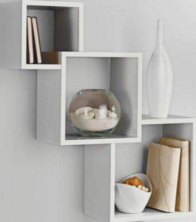 Wishlist: High Gloss  Cube Shelves